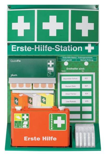 PREMIUM Erste-Hilfe-Stationen, DIN 13157