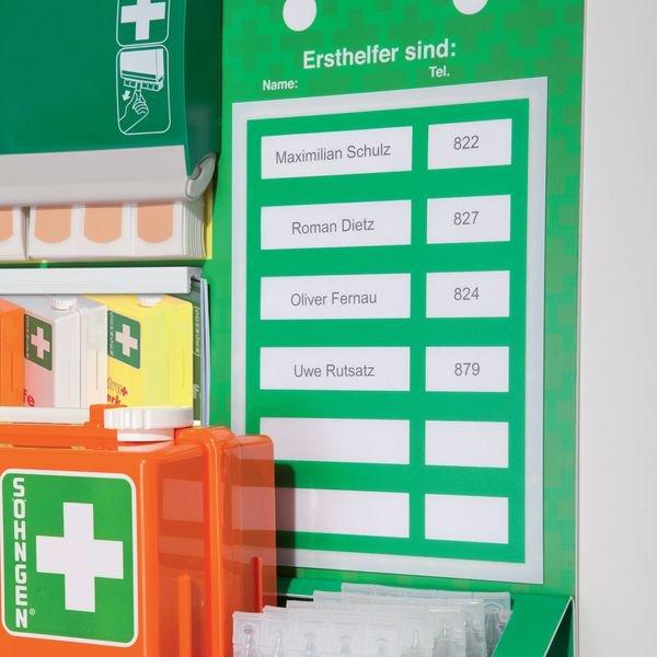 PREMIUM Erste-Hilfe-Stationen, DIN 13157 - Erste-Hilfe-Koffer