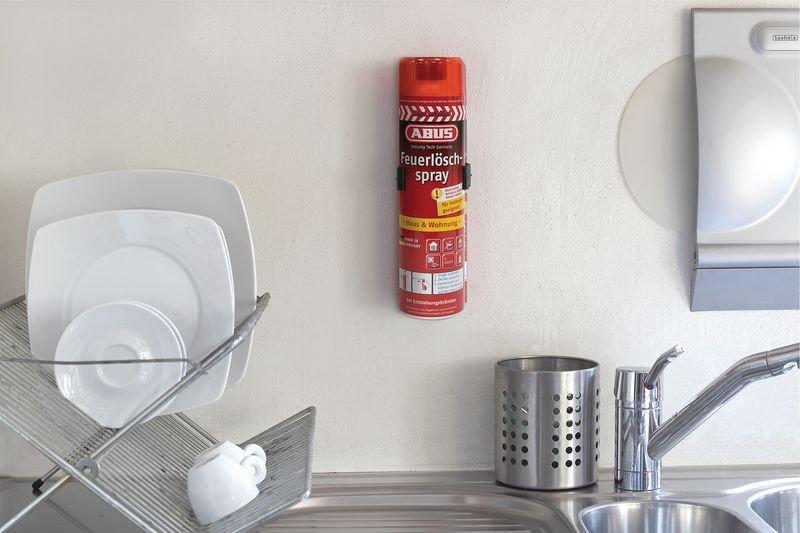 Wandhalterung für ABUS Universal-Feuerlöschersprays