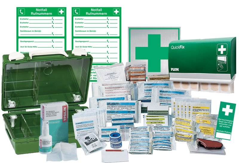 Erste-Hilfe-Classic-Sets, DIN 13157