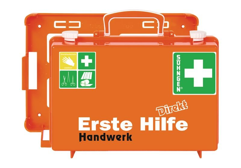 SÖHNGEN Erste-Hilfe-Koffer Direkt für Handwerk, DIN 13157