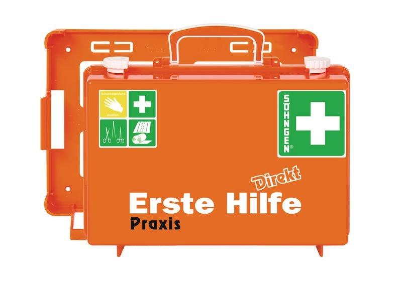 SÖHNGEN Erste-Hilfe-Koffer Direkt für Praxis, DIN 13157