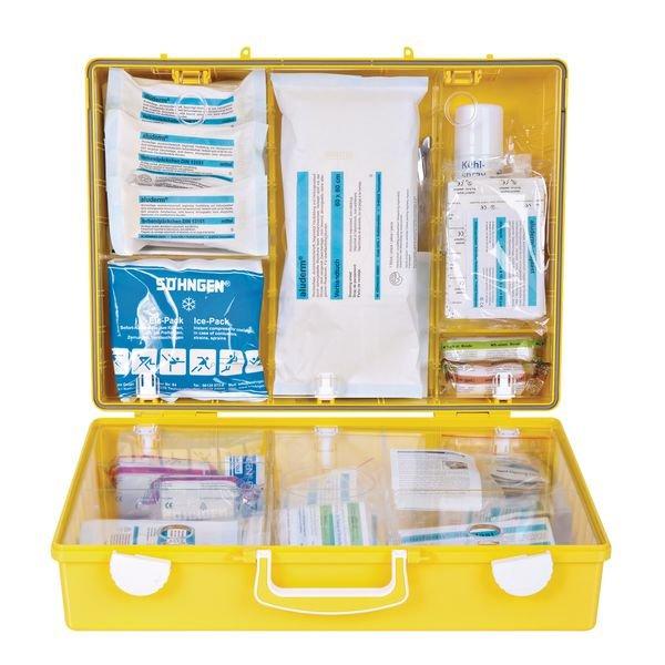 SÖHNGEN Erste-Hilfe-Koffer Extra Plus für Verwaltung, DIN 13157