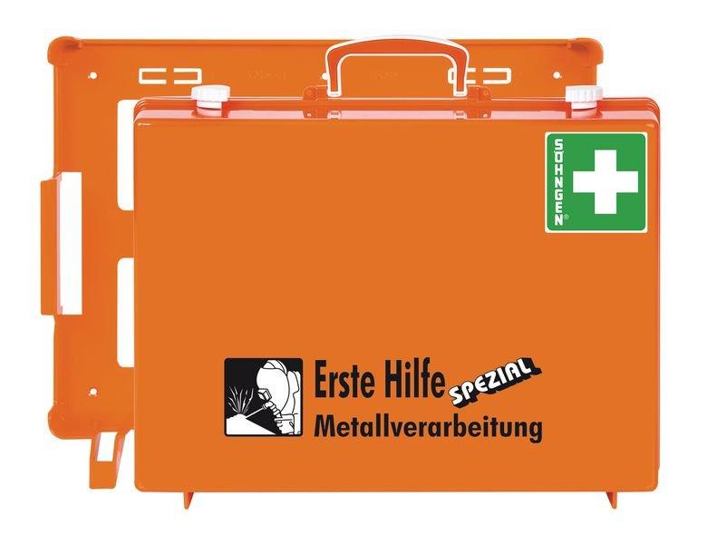 SÖHNGEN Erste-Hilfe-Koffer Spezial und Nachfüllpackungen für Metallverarbeitung, DIN 13157