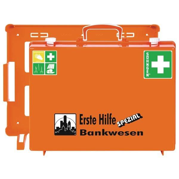 SÖHNGEN Erste-Hilfe-Koffer Spezial und Nachfüllpackungen für Bankwesen, ÖNORM Z1020 Typ 1