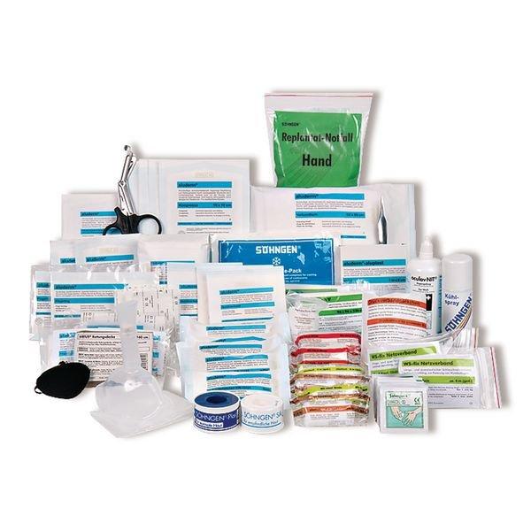 SÖHNGEN Erste-Hilfe-Nachfüllpackungen für Erste-Hilfe-Koffer Extra, Industrie, DIN 13157