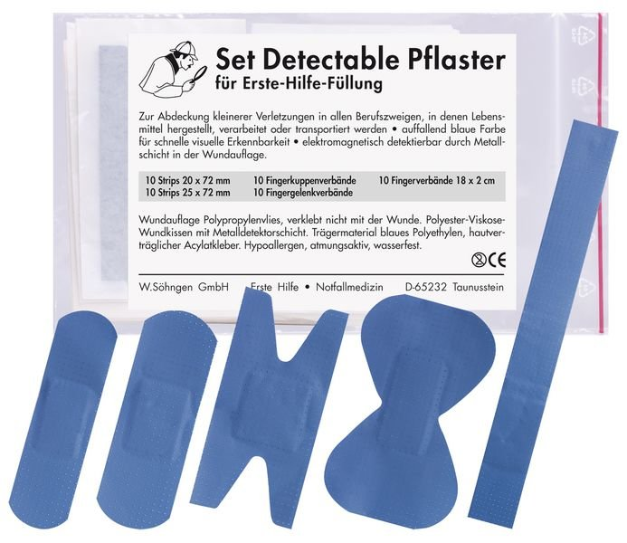 SÖHNGEN Pflaster-Set, detektabel - Pflaster und Verbandmaterial