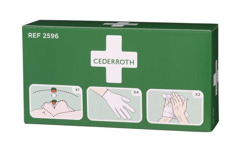 Cederroth Beatmungshilfe-Set für Erste-Hilfe-Koffer