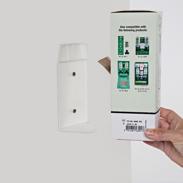 Plum Kochsalzlösung (0,9 %) - Augenspülflaschen im Einzelkarton, mit Halter - Notduschen und Augenspülung