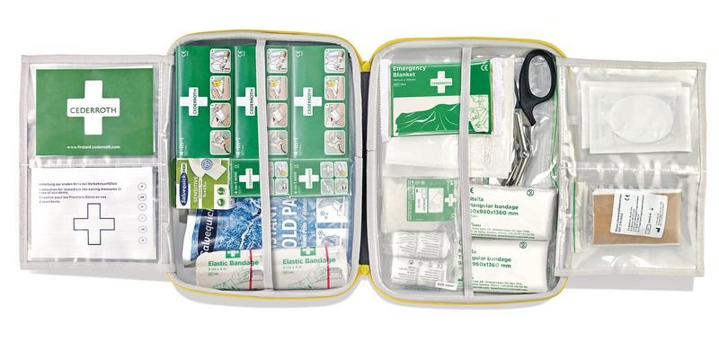 Cederroth Erste-Hilfe-Station mit Erste-Hilfe-Koffer, DIN 13157