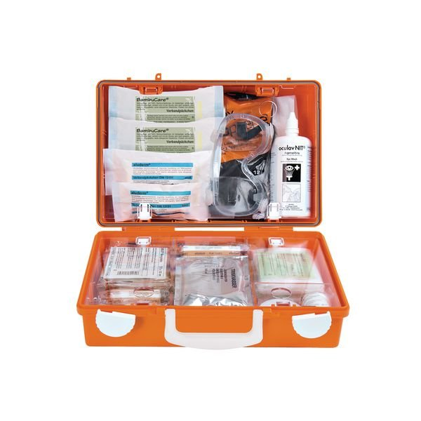 SÖHNGEN KFZ-Verbandkasten, GGVSEB, DIN 13164 - Erste-Hilfe-Koffer