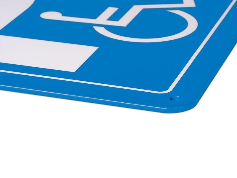 Parken nur für Kunden - PREMIUM Parkgebotsschilder, vandalismussicher