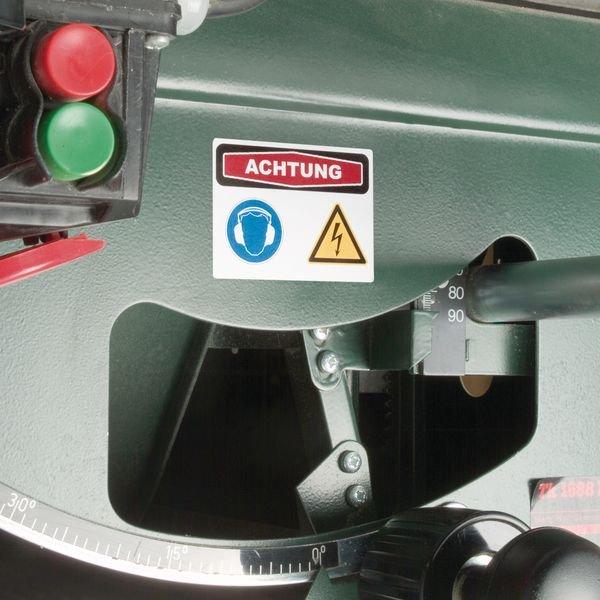 CE-geprüft - Focus-Kombi-Maschinenkennzeichnung