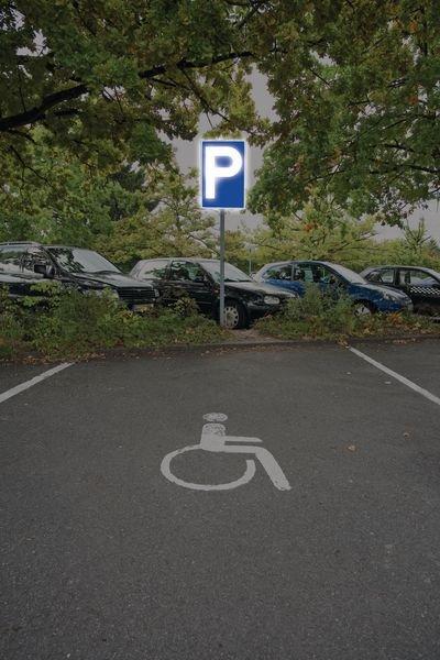 Parken nur für Kunden - PREMIUM Parkgebotsschilder, retroreflektierend, massiv - Parkschilder