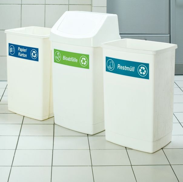 Restmüll – Recycling Kombikennzeichnung