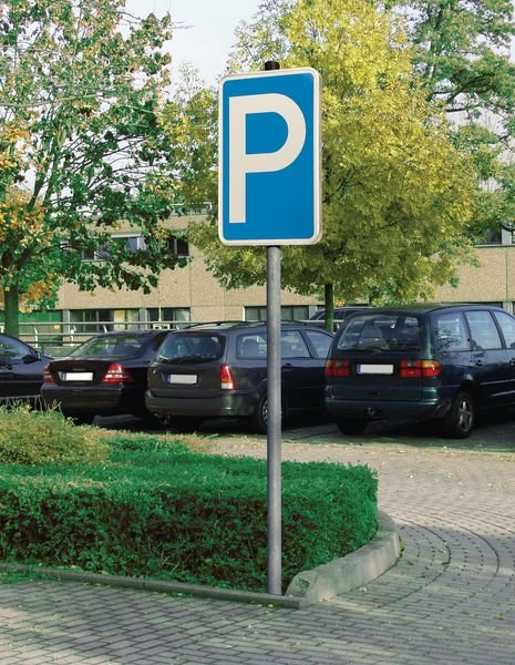 Nur für Besucher – PREMIUM Parkgebotsschilder, profilrandverstärkt