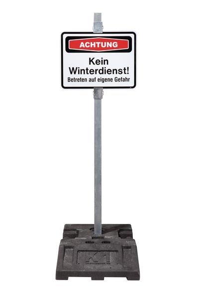 Eingeschränkter Winterdienst - PREMIUM Focus-Schilder Winter, massiv