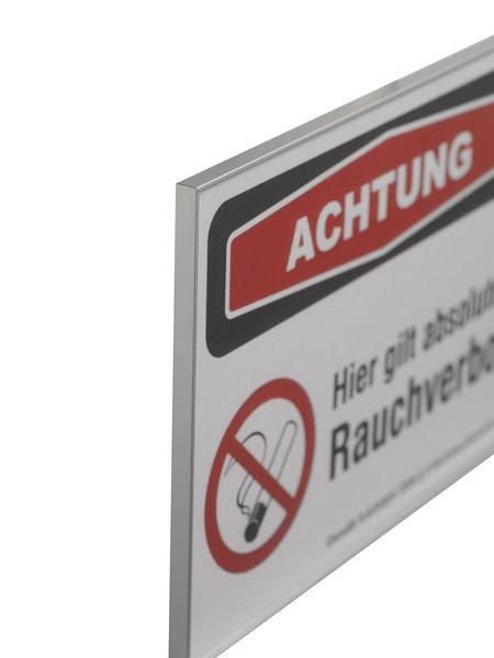 Achtung - absolutes Rauchverbot - SIGN Focus-Schilder Nichtraucherschutz