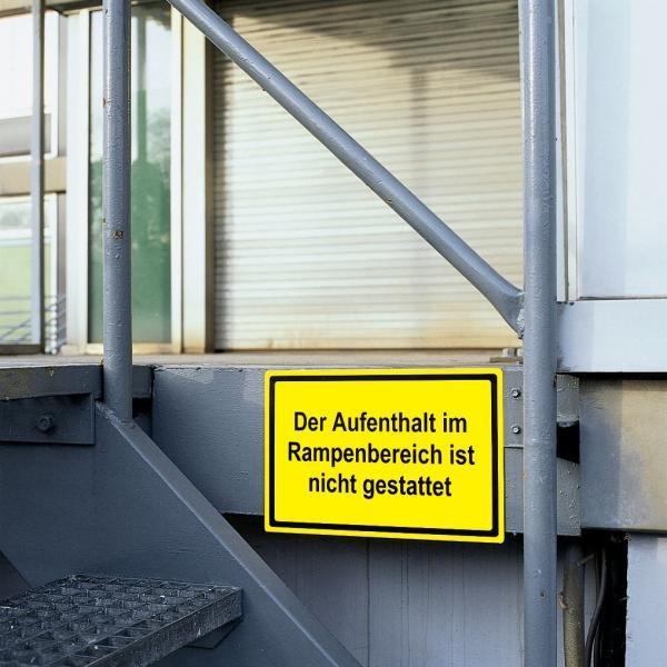 Aluminiumschilder, individuell - Hinweisschilder zur Betriebskennzeichnung