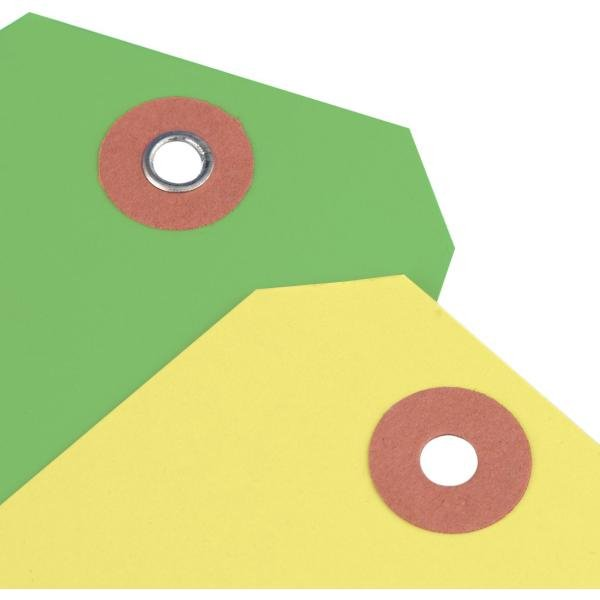 Anhängeetiketten aus Karton, individuell, fluoreszierend - Anhängeetiketten