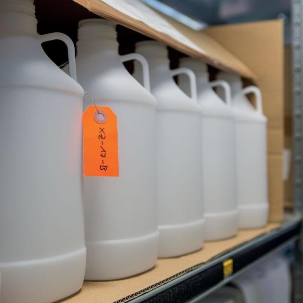 Anhängeetiketten aus Karton, individuell, fluoreszierend - Lagerorganisation