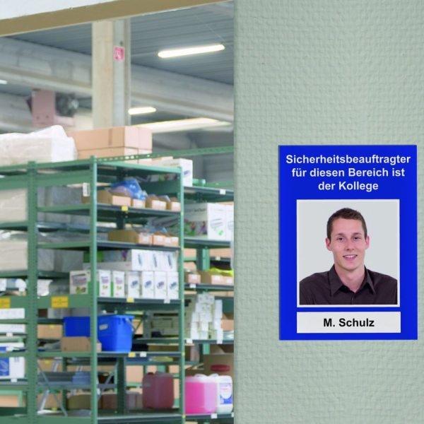 Aluminiumschilder, 4-Farb-Digitaldruck, hochauflösend, individuell - Hinweisschilder zur Betriebskennzeichnung