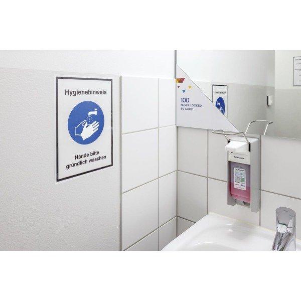 Hygiene-Hinweisschilder mit Symbol und Text nach Wunsch - Erste-Hilfe-Schilder