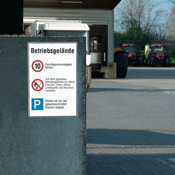 Verkehrstafeln, individuell, Wunsch-Symbole/-Text, Aluminium
