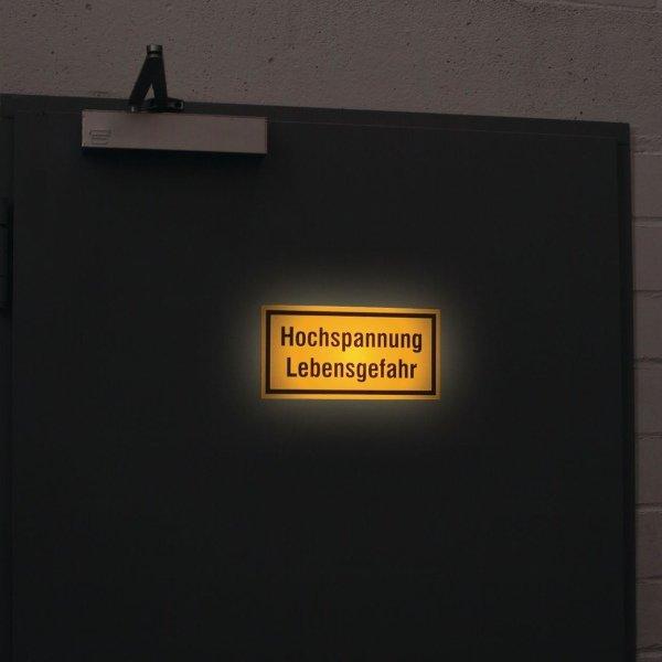 Warnhinweisschilder mit Text nach Wunsch - Warnschilder neue ASR A1.3, EN ISO 7010