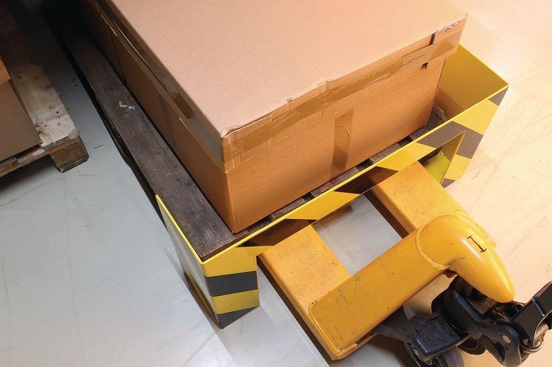 Anfahrschutz für Langpaletten - Rammschutz