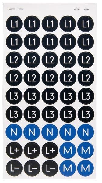 Leiter- und Betriebsmittelkennzeichnung, im Heft