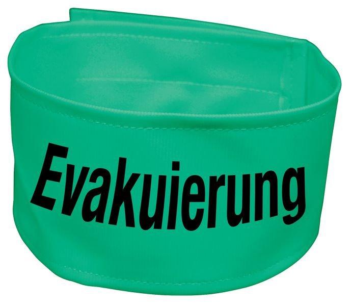 Warnbinden Evakuierung, fluoreszierend