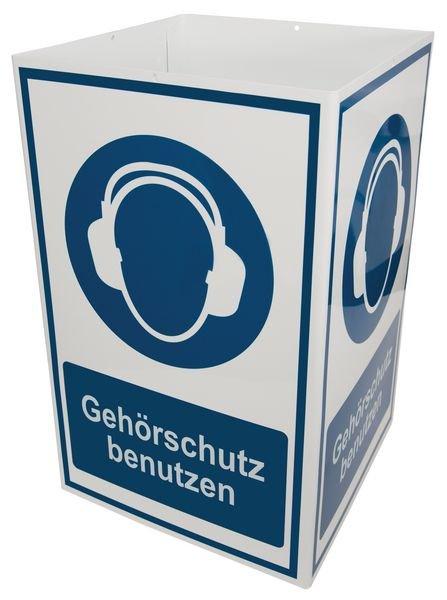 Kombi-Schilder mit Symbol und Text nach Wunsch, ISO 7010 - Gebotsschilder