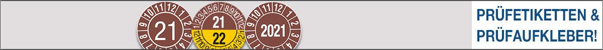SETON Prüfetiketten - die meistgekauften Prüfaufkleber und Prüfetiketten