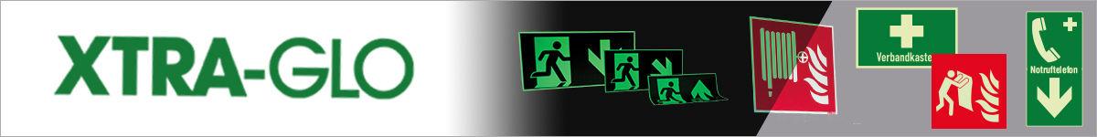 XTRA-GLO langnachleuchtende Sicherheitskennzeichnung