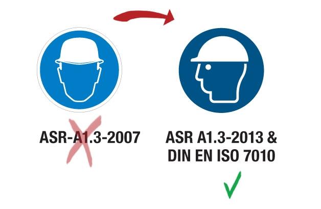 ASR A1.3 DIN EN ISO 7010 Verordnung