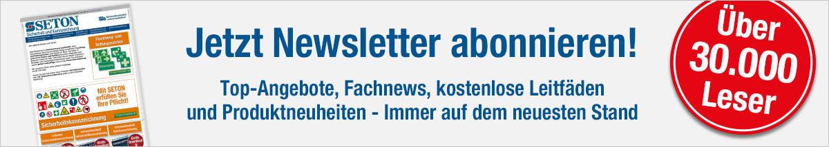 Banner Newsletter Anmeldung