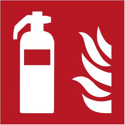 Feuerlöschgerät Schild