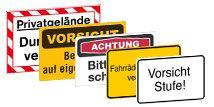 Hinweisschilder Betriebskennzeichnung