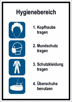 Anleitung Schutzkleidung tragen