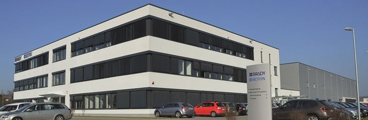 SETON Egelsbach Firmensitz Produktion Logistik