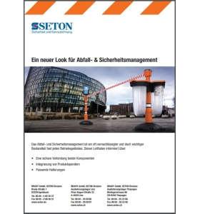 Produktbroschüre Abfall- & Sicherheitsmanagement
