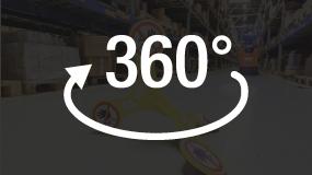 360° Sichtbarkeit