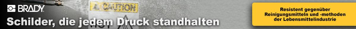 Banner ToughWash-Schilder