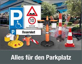 Alles für den Parkplatz