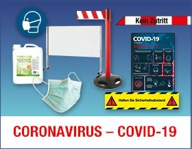 Coronavirus-Schutzmaßnahmen - Sorgen Sie für die Einhaltung von Schutz- und Hygienemaßnahmen