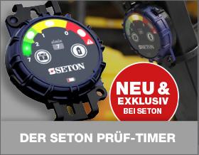 Der SETON Prüf-Timer