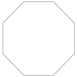 Form Achteck
