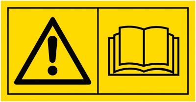 Gefahrenbildzeichen nach ISO 11684