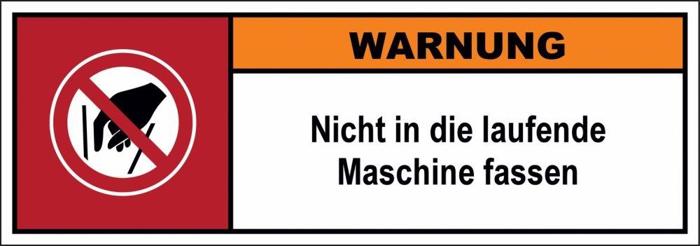 Maschinenschilder nach ISO 3864
